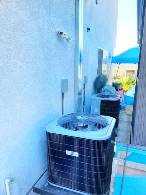 Midway City, CA - Replaced two condensers, two coils, and two furnaces in the city of Midway City, CA.