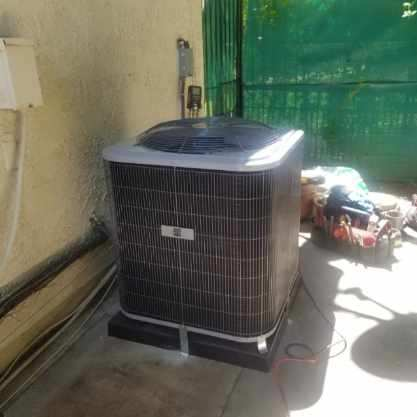 Calabasas, CA - Replaced a condenser and coil in the city of Calabasas, CA.