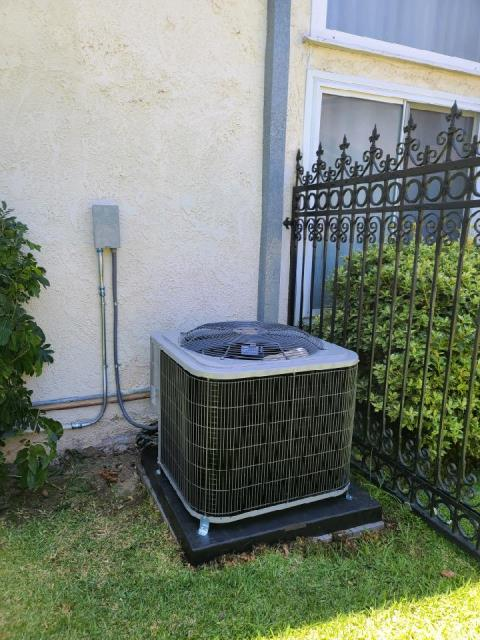 Long Beach, CA - Replaced a condenser, coil,and furnace along with duct work in the Long Beach,CA.