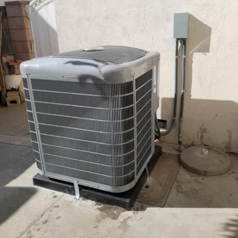 West Covina, CA - Replaced a condenser, coil, and furnace along with the duct work in the city of West Covina,CA.