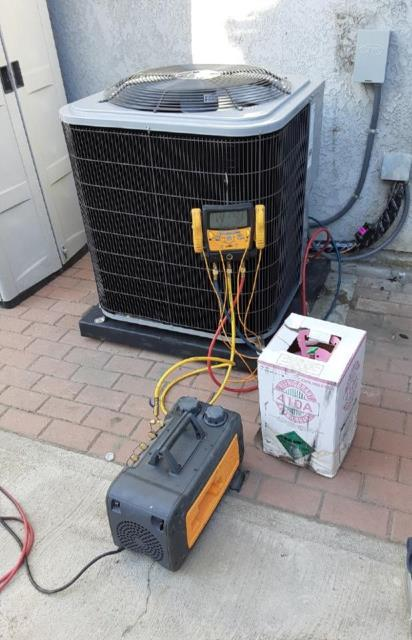 Baldwin Park, CA - Replaced a condenser, coil,and furnace in the city of Baldwin Park, CA.