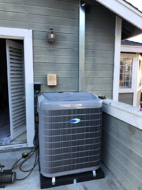 Redondo Beach, CA - Replaced a condenser,coil,and furnace in the city of Redondo Beach, CA.