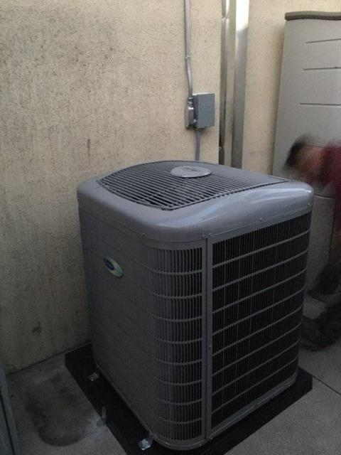 Redondo Beach, CA - Replaced a condenser, coil, and furnace in the city of Redondo Beach,CA.