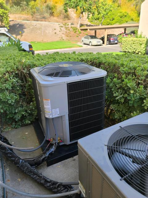Mission Viejo, CA - Replaced a condenser, coil,and furnace along with the duct work in the city of Mission Viejo,CA.