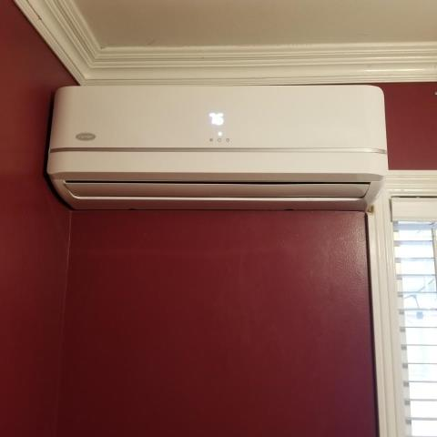 Whittier, CA - Installed a mini split system in the city of Whittier,CA.