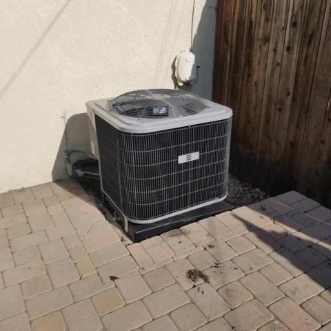 Pasadena, CA - Installed a condenser, coil,and furnace in the city of Pasadena,CA.