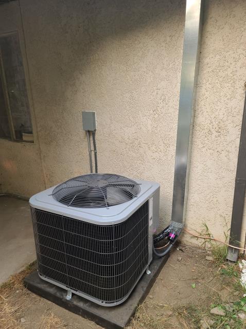 Duarte, CA - Replaced a condenser, and coil in the city of Duarte, CA.