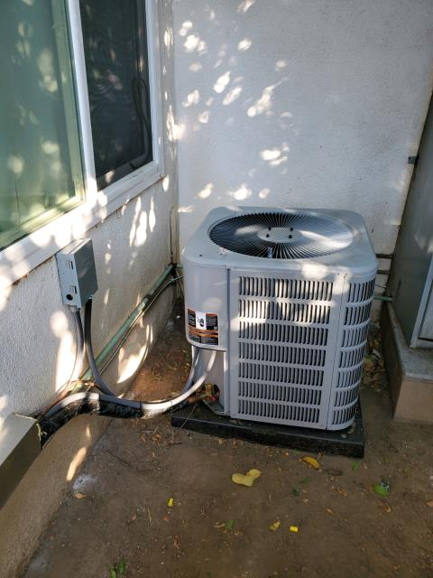 Installed a condenser, coil, and furnace in the city of La Puente,CA.