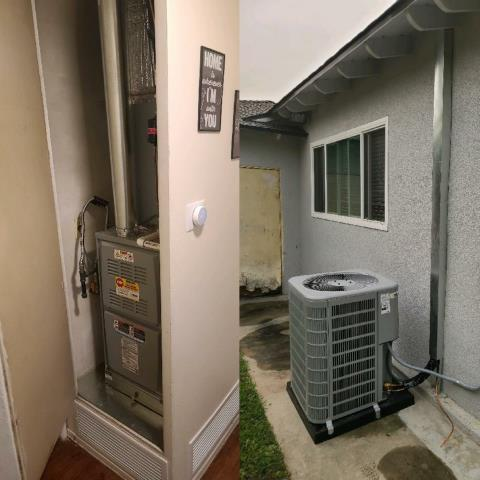 Paramount, CA - Installation of a new condenser unit, furnace and duct replacement for a wonderful customer located in the city of Paramount