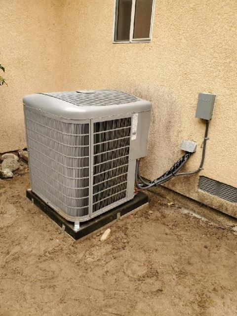 Arcadia, CA - Replaced a condenser,coil,and furnace in the city of Arcadia,CA.