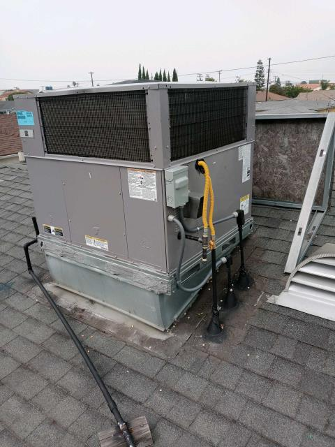 Torrance, CA - Replaced a rooftop package unit in the city of Torrance,CA.