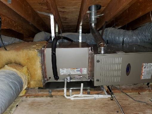 Replaced a condenser, coil,and furnace in the city of Santa Ana, CA.