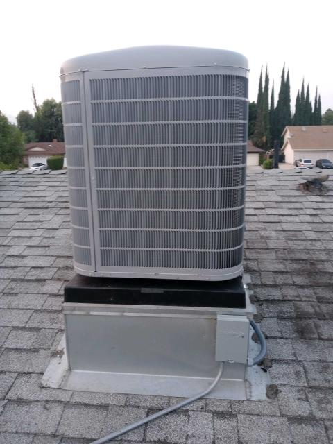 Los Angeles, CA - Replaced a condenser, coil, and furnace in the city of Northridge,CA.