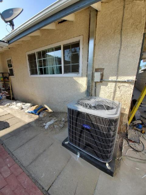 Santa Ana, CA - Replaced a condenser, coil,and furnace along with the duct work in the city of Santa Ana, CA.