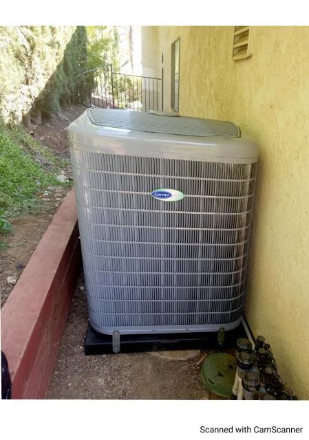Westlake Village, CA - Replaced a condenser, coil,and furnace along with the duct work in the city of Westlake Village,CA.
