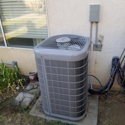 Altadena, CA - Replaced a condenser, coil,and furnace in the city of Altadena,CA.