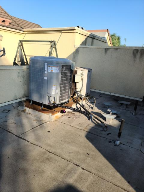 Inglewood, CA - Replaced a condenser, coil,and furnace in the city of Inglewood,CA.