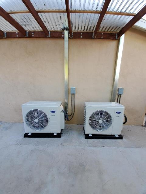 Hawthorne, CA - Installed 2 mini split systems in the city of Hawthorne, CA.