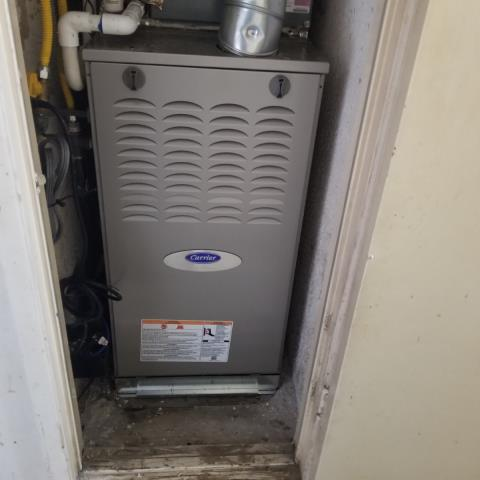 Whittier, CA - Replaced a gas furnace in the city of Whittier, CA.
