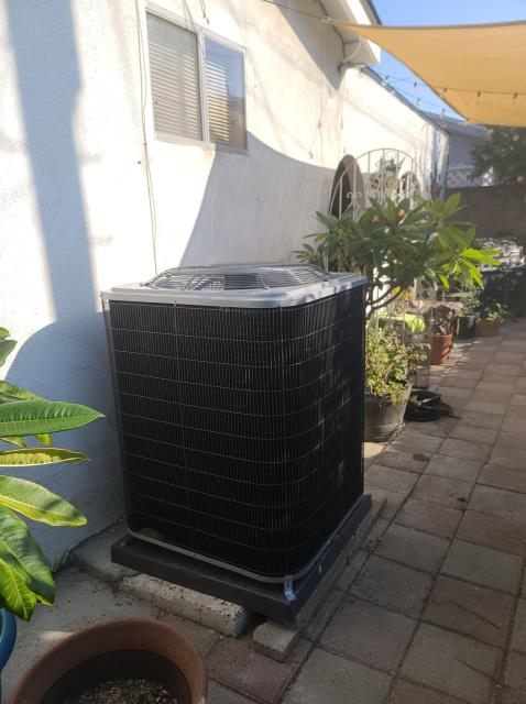 Carson, CA - Replaced a condenser,coil and furnace in the city of Carson,CA.