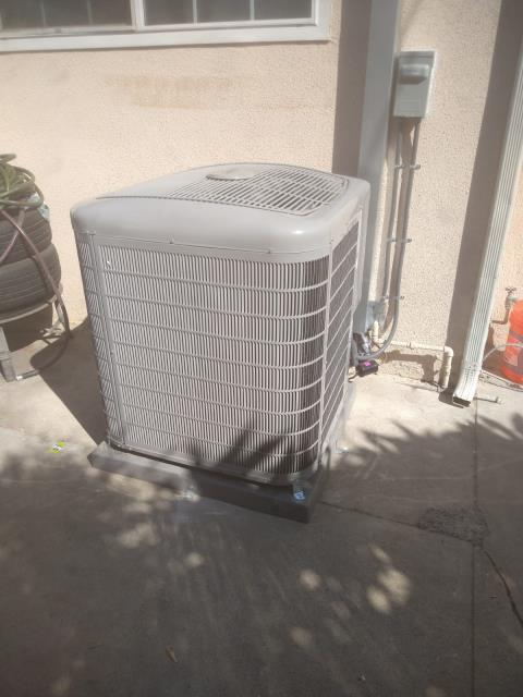 Norwalk, CA - Replaced a condenser,and coil. Installed a new gas furnace and replaced the duct work in the city of Norwalk,CA.