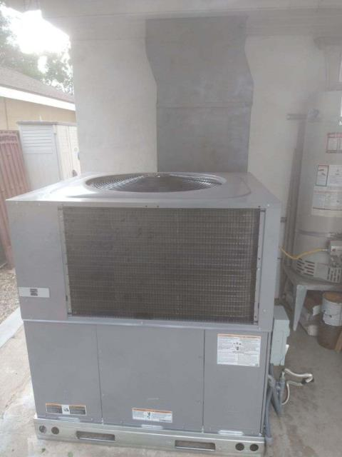 Los Angeles, CA - Replaced a package unit in the city of Sepulveda, CA.