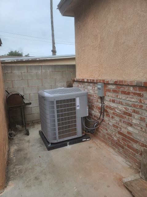 Compton, CA - Replaced a condenser, coil,and furnace along with the duct work in the city of Compton, CA.