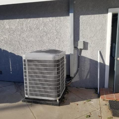 Tustin, CA - Replaced a condenser, and coil. Installed a new gas furnace. Also replaced the duct work and upgraded the electrical panel in the city of Tustin, CA.
