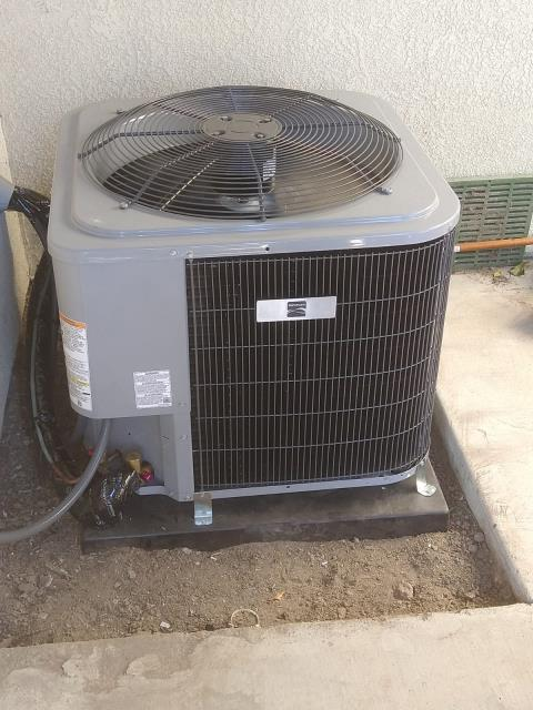 Orange, CA - Replaced a condenser, coil, and furnace in the city of Orange,CA.
