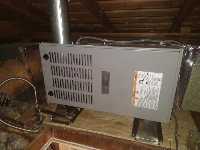 Azusa, CA - Replaced a gas furnace in the city of Azusa,CA.