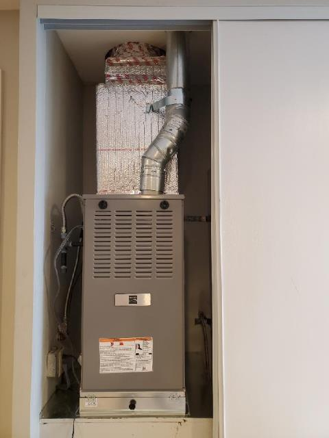 Replaced a gas furnace in the city of Newport Beach, CA.