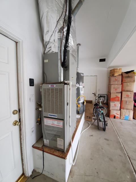 Bakersfield, CA - Replaced a gas furnace in the city of Bakersfield,CA.