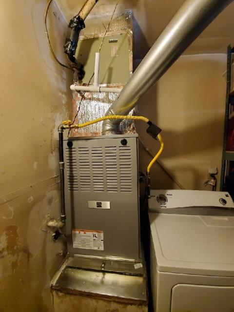 Removed and Replaced a furnace in the city of Rancho Cucamonga,CA.
