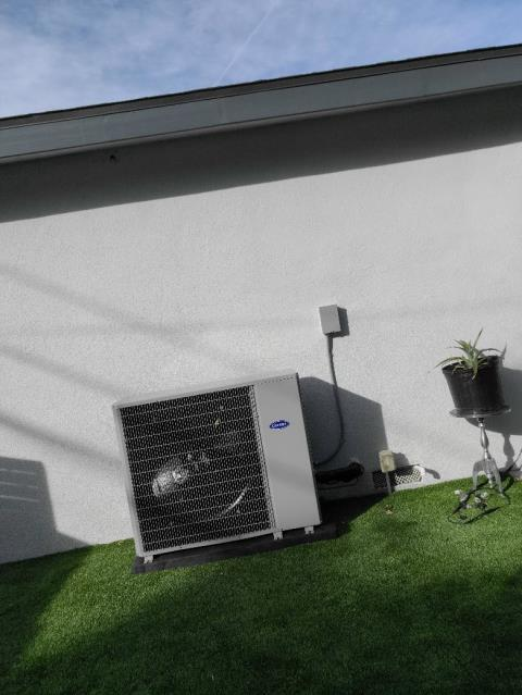 Redondo Beach, CA - Heating and cooling system installation for a family at Redondo Beach Ca