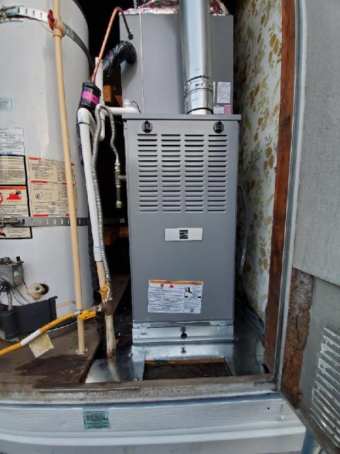 Replaced a condenser, coil, and furnace in Harbor City,CA.