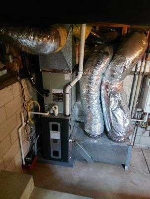 Replaced a condenser, coil,and furnace in the city of Los Angeles,CA.
