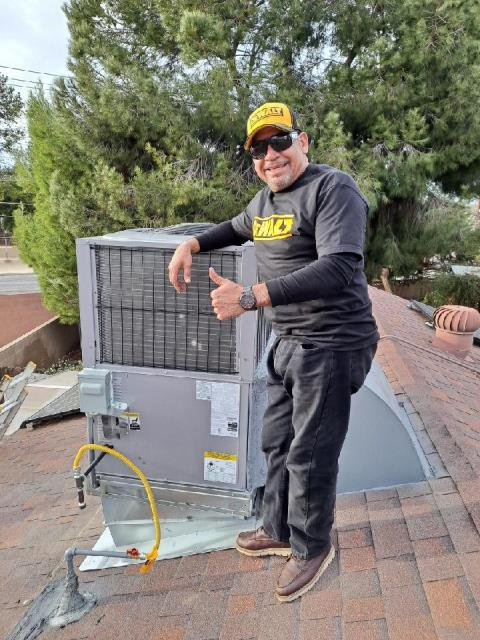 Removed and replaced a package unit in the city of Bakersfield,CA.