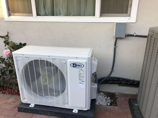 Covina, CA - Installed a mini split system in the city of Covina, CA.