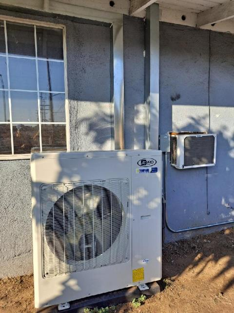 Installed a mini split system with 5 heads in the city of La Puente,CA.