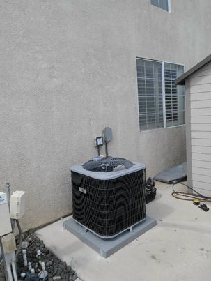 Replaced a condenser, coil,and furnace along with ducts in the city of Ontario, CA.