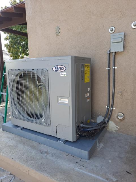 Replaced a condenser, coil, and furnace, along with the duct work in the city of Monrovia, CA.