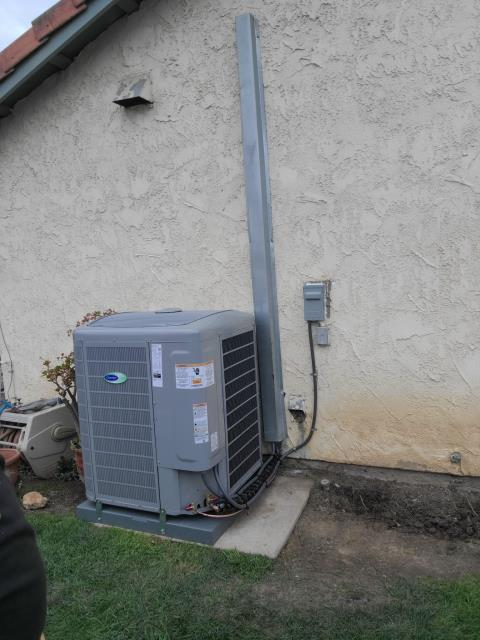 Replaced a condenser, coil, and furnace in the city of Simi Valley, CA.