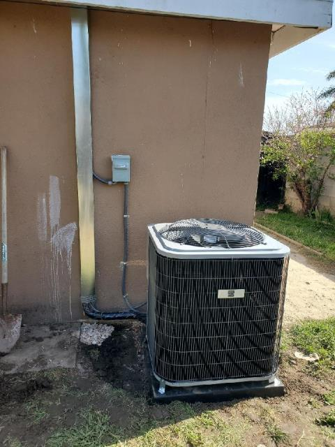 Replaced a condenser, coil, and furnace along with the duct work in the city of Santa Ana, CA.