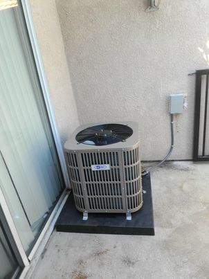 Replaced a condenser, and coil in the city of Azusa, CA.