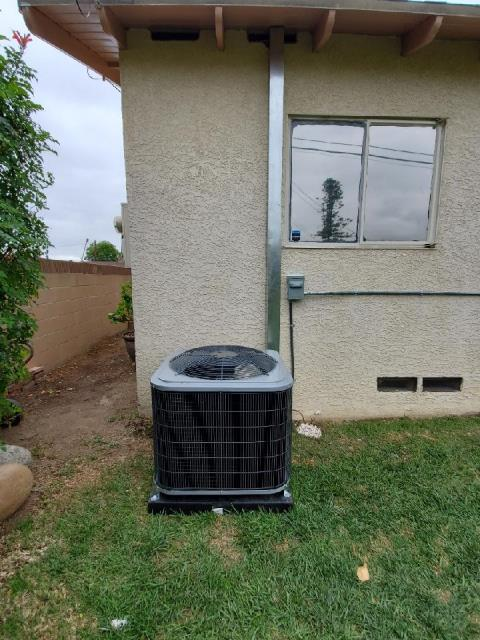 Covina, CA - Replaced a condenser, coil, and furnace along with the duct work in the city of Covina, CA.