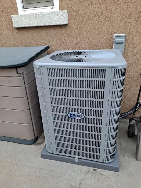 Replaced a condenser, coil, and furnace along with the ductwork in the city of Rancho Cucamonga, CA.