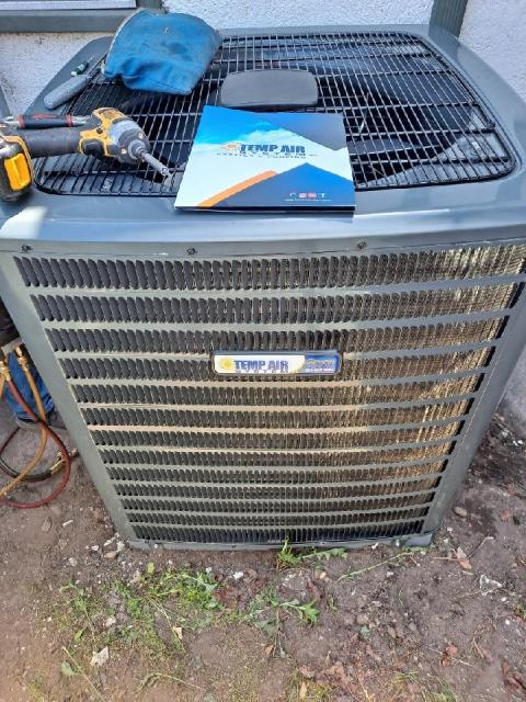 San Gabriel, CA - Removed and Replaced a condenser and coil in the city of San Gabriel, CA.