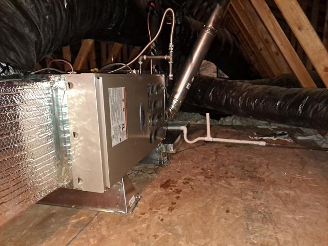 Bakersfield, CA - Replaced a condenser, coil, and a furnace in the city of Bakersfield, CA.