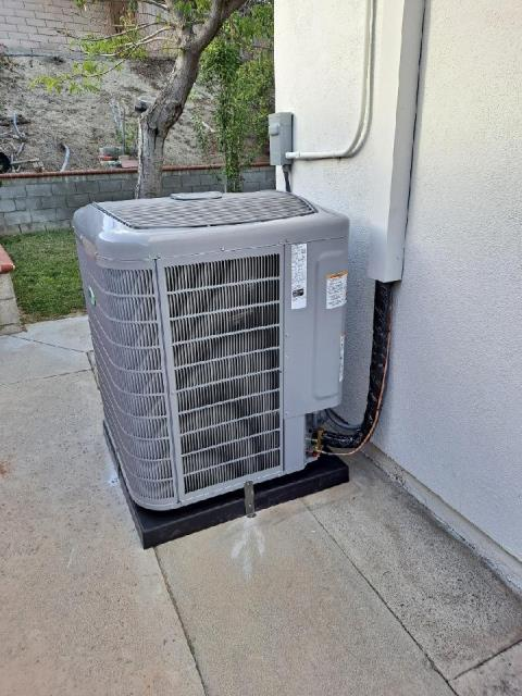 Walnut, CA - Replaced a condenser, coil, and furnace in the city of Walnut, CA.