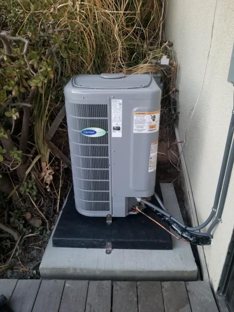 Malibu, CA - Replaced a condenser, and Air handler in the city of Malibu, CA.